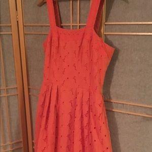 Morgan McFeeters Eyelet Floral Dress Sz 6